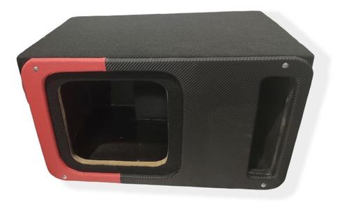 Imagen 1 de 4 de Cajón Acústico Para Subwoofer Cuadrado De 12 Pulgadas