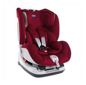 Cadeira Auto Bebê Chicco Isofix Seat Up - Red Passion