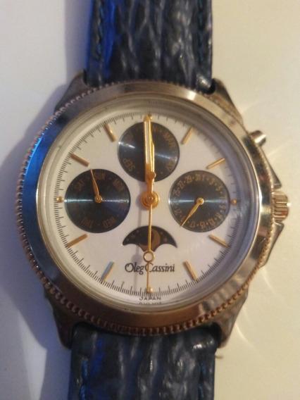 Reloj Oleg Cassini Fases Lunares De Hombre,. Citizen, Seiko
