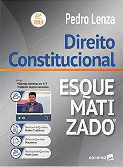 Direito Constitucional Esquematizado® - 23ª Edição De 20