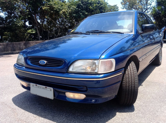 Ford Escort Glx 1.8i Europeu - Pouco Rodado