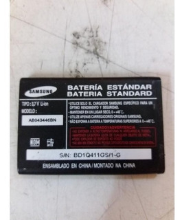 Bateria Samsung E116 X576 256 C506 Ab043446bn 3.7v