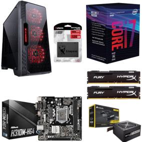 Pc Lumia Intel I7 8700 Mb H310m Hg4 Hx 16gb Vs400 Ssd 120gb