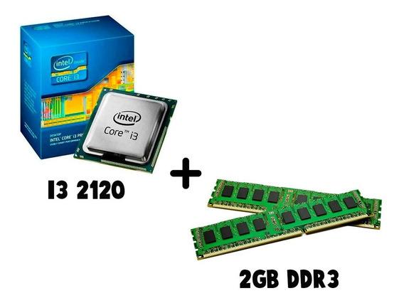 Kit Upgrade I3 2120 + 2gd Ddr3