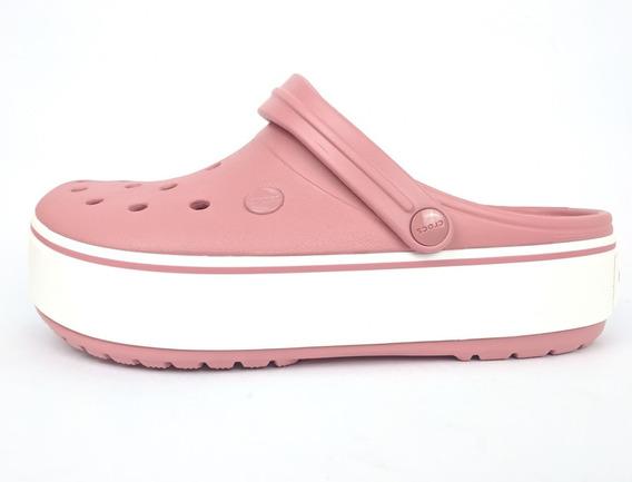 Sandalia Crocs Crocband Platform Clog