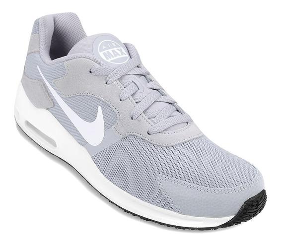 Zapatillas Nike Air Max Guile Hombre - Gris + Blanco