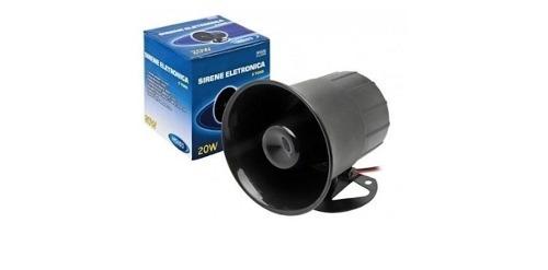 Sirene Eletronica 6 Tons 12v 112db
