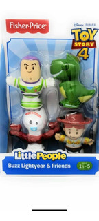 Little People Toy Story 4 Buzz Lightyear & Friends