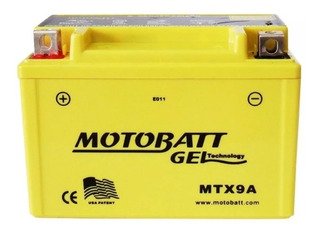 Mtx9a Bateria Motobatt Kawasaki Ninja 250, Ninja 300,klx 650