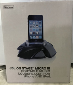 Dock Station Jbl On Stage Micro Iii - Novo