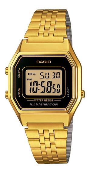 Relógio Casio Digital Vintage Unissex La680wga-1df Seminovo