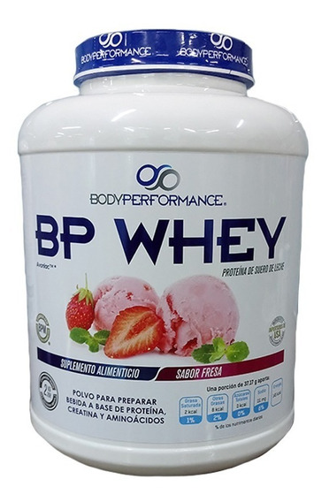 Proteina Body Performance Bp Whey 5 Lb Sabor Fresa