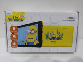 Caixa Vazia Tablet How Minions Original