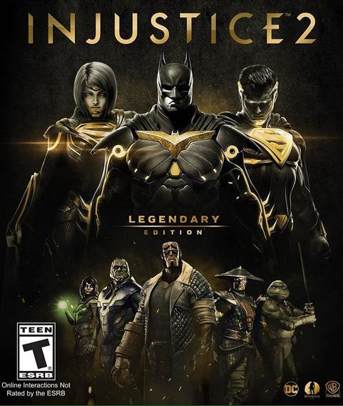 Injustice 2 Legendary Ed. Pc - 100% Original - Mega Promoção