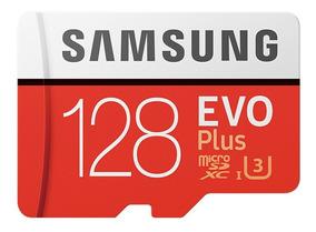 Samsung Evo Mais Micro Sdxc Ush-1 U3 128 Gb Classe10 100 S /