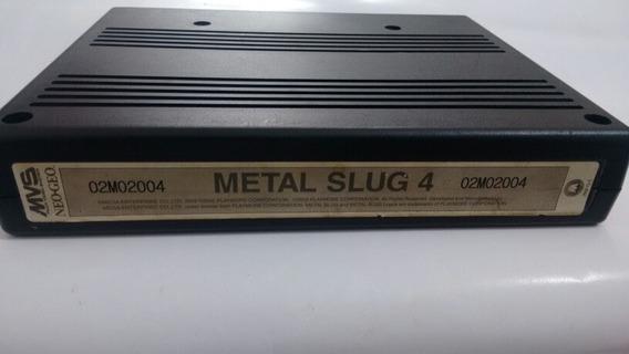 Metal Slug 4 - Neo Geo - Cartucho Mvs - Original