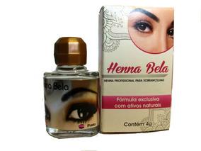Henna Bela Sobrancelhas - Cor: Preto
