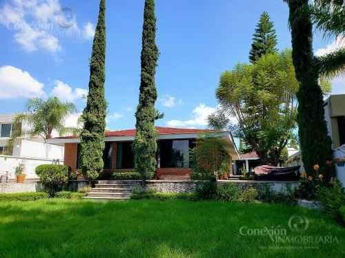 Casa En Mesón Del Prado, Juriquilla Queretaro, Con Increible Vista Al Campo De Golf.