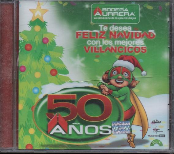 Bodega Aurrerá/ 50 Años Feliz Navidad Mamá Lucha Villanc Cd