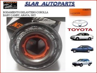 Rodamiento Delantero Toyota Corolla Araya, Baby Camry, Sky.