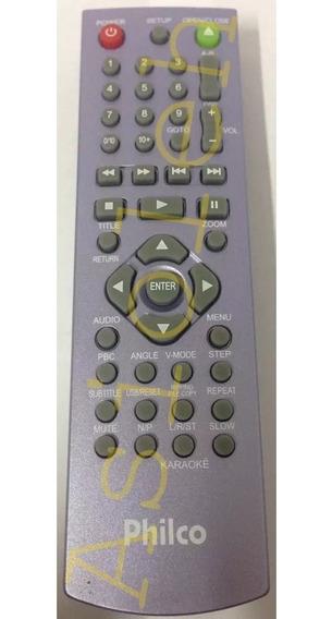 Controle Original Philco Para Dvd Philco Ph180 Ph190 Ph190n