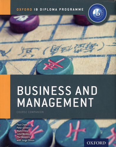 Oxford Ib Diploma Programe - Business And Management - Paul,