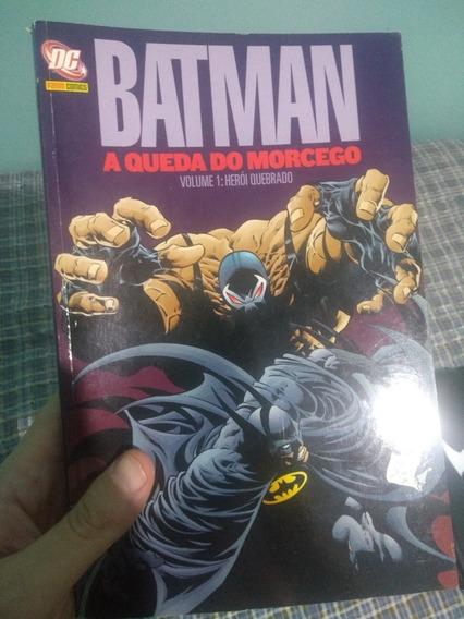 Batman - A Queda Do Morcego - Panini (edição Antiga)
