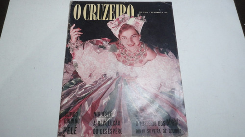 Imagem 1 de 2 de Revista O Cruzeiro N° 5 De 11 De Novembro 1961 Pelá Sinatra
