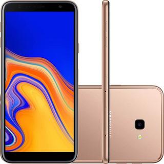 Celular Samsung Galaxy J4 Plus Cobre 32gb 2gb Ram Tela 6 Novo Lacrado + Nf