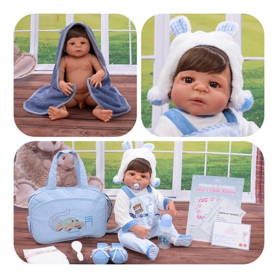 Bebê Reborn Menino Com Enxoval Pronta Entrega Original