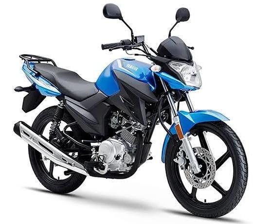 Motocicleta Yamaha Ybr125