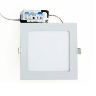Plafon Panel Led Sica Embutir 12w Cuadrado Luz Fria O Calida