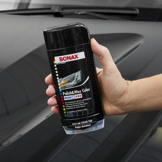 Cera Carro Sonax Polish+wax Color Carnauba Nanotecnologia +