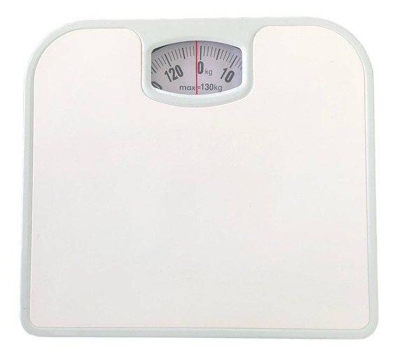 Bascula De Baño Cuadrada Analoga 130kg Personal Envio Gratis