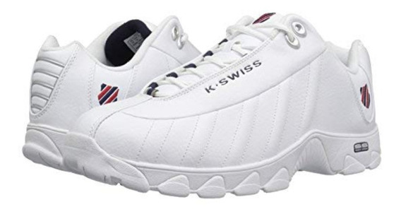 K-swiss St 329 Cmf 03426-130-m White/navy/red.