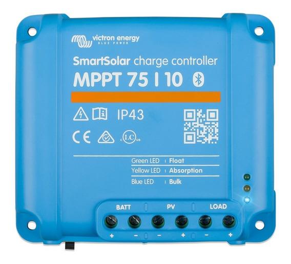 Controlador De Carga Solar Victron Blue Solar Mppt 75/10