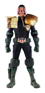 Judge Dredd 2000ad Threea Figura Escala 1/6 - Robot Negro