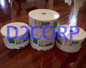 Dvds Doble Capa Dl Power Disc Torre De 25 Unidades 8.5gb