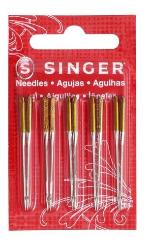 Agujas Singer 2045 90/14 Para Máquina De Coser