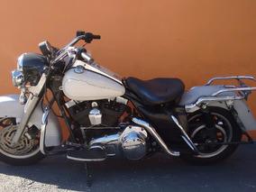 Harley-davidson Touring Road King Police 2007 - Branca
