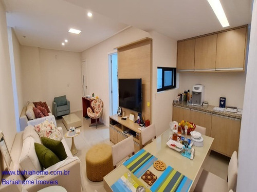 Imagem 1 de 30 de Com Ambientes Amplos & Vista Para O Mar Esse Apartamento Com Dois Quartos A Venda Na Colina A Em Patamares - Ap1112mc