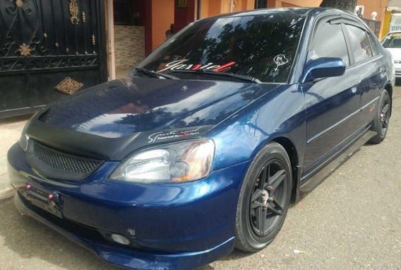 Honda Civic 2002 Ex Full Sunroof Sano Y Impecable Americano