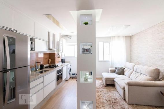 Apartamento No 4º Andar Mobiliado Com 2 Dormitórios E 1 Garagem - Id: 892872471 - 172471