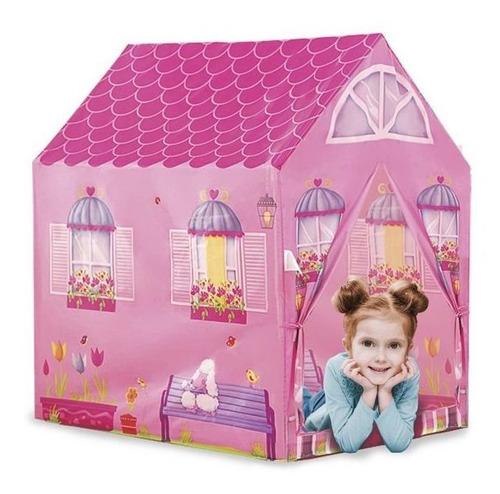 Imagem 1 de 2 de Barraca Infantil Dobrável Barraca Minha Casinha Dm Toys