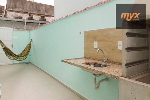 Sobrado À Venda, 105 M² Por R$ 450.000,00 - Campo Grande - Santos/sp - So0510