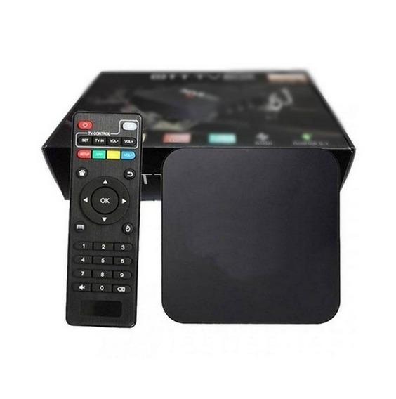 Box Smartv Tv Box Com 16gb E 2gb Ram Com Android 8.1 4k Hevc