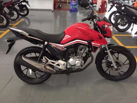 Vendo Honda Titan 2019 Vermelha 0km