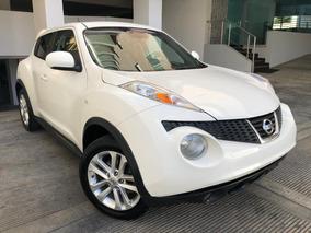 Nissan Juke Full Americana 4x4 2013 Blanca Sunroof Piel