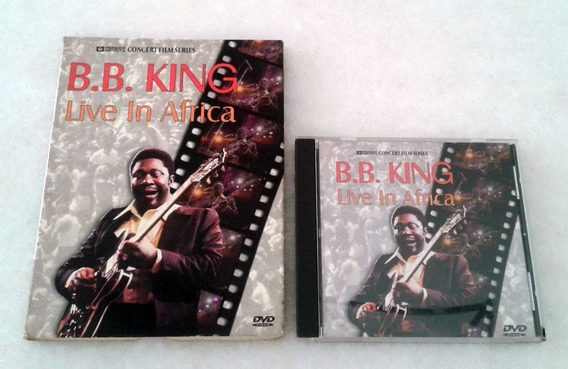 Dvd B.b. King - Live In Africa