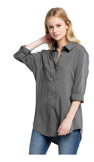 Camisa Mujer Sundance Ml Shirt Rusty
